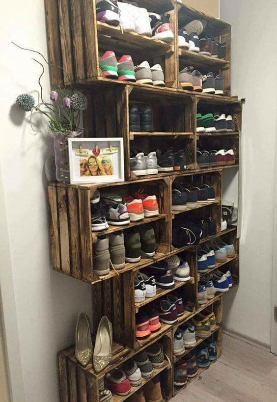 Ideas How To Create Diy Shoe Closet Shelves