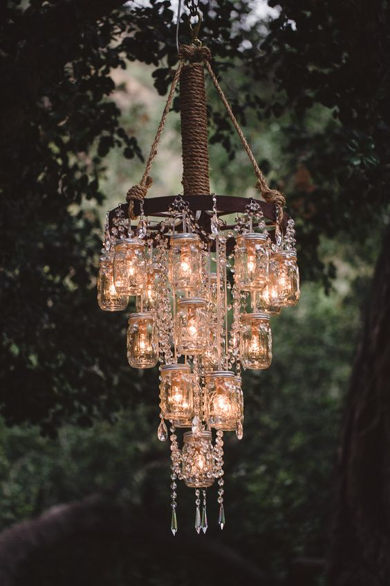 Make a diy chandelier easily with these ideas cozy diy make a diy chandelier easily with these ideas aloadofball Images