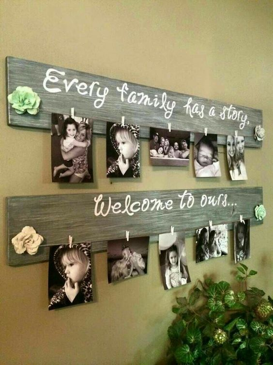 Innovative DIY Picture Frame Ideas - Cozy DIY