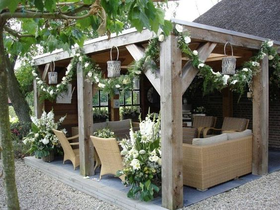 DIY Pergola Get Yourself An Outdoor Living Room Cozy DIY