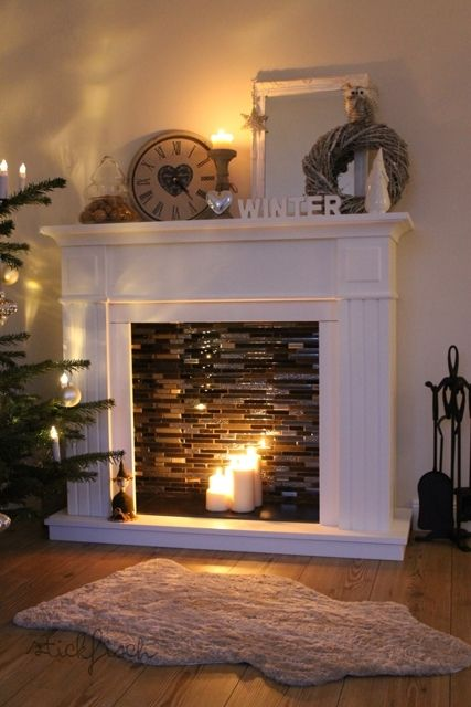 diy fireplaces how to make your own fireplace easily cozy diy rh cozydiy com make your own fireplace screen make your own fireplace garland