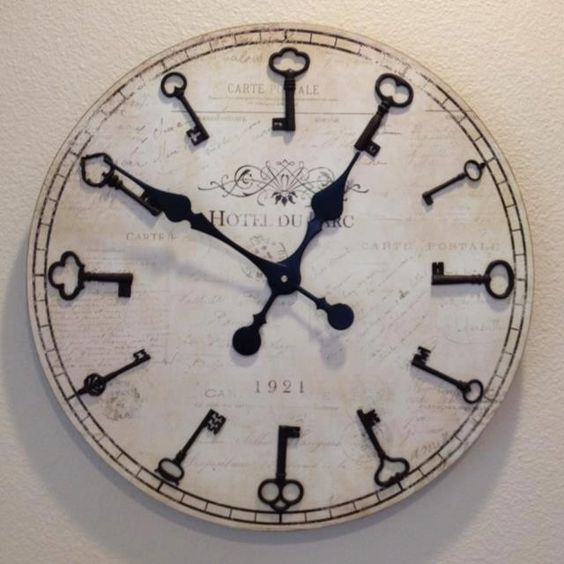 Unique wall clocks getting your one of a kind diy clock cozy diy - Antique clock designs for your home ...